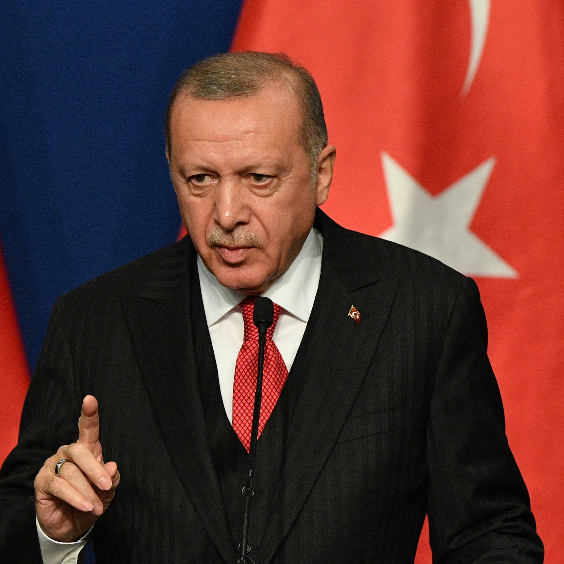 أردوغان: واشنطن لم تلتزم بتعهداتها في سوريا
