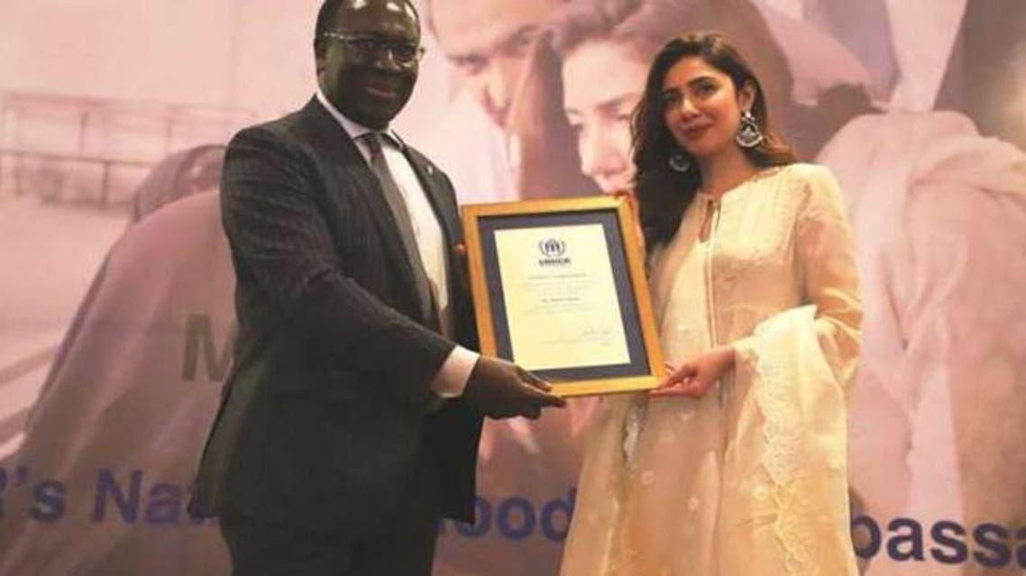 Actress Mahira Khan named UNHCR Goodwill Ambassador for Pakistan