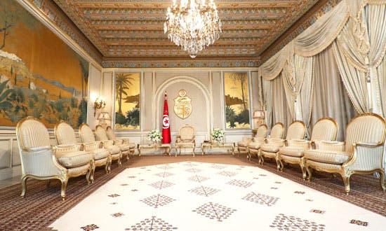 من داخل قصر قرطاج