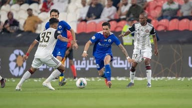 الشارقة يتجاوز الجزيرة ويواصل صدارة الدوري الإماراتي