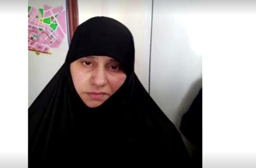 زوجة البغدادي
