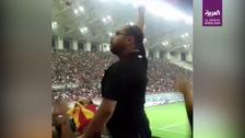 Ahwazi fans chant 'listen Tehran, we are Arabs' during Foolad football match
