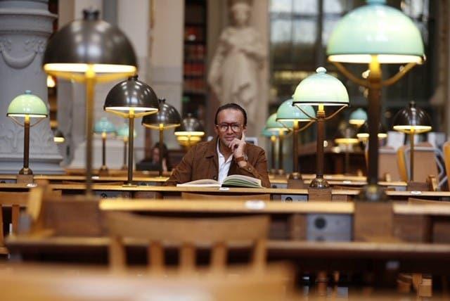 مراسل العربية بالمكتبة الوطنية لتاريخ الفنون والآثار في باريس