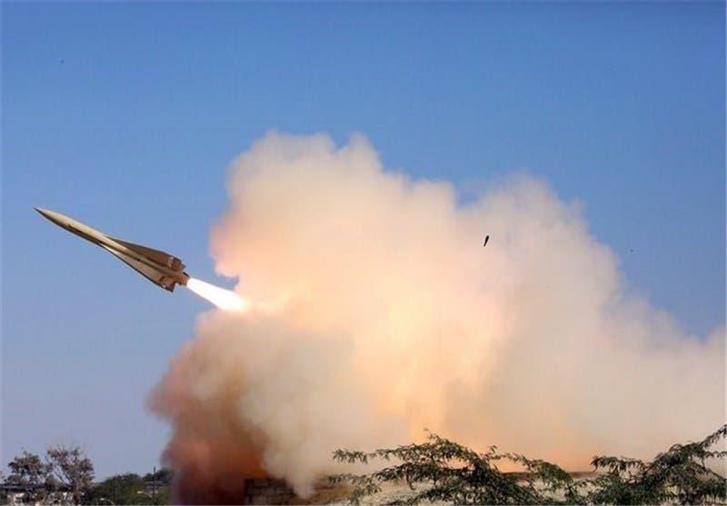 صاروخ دفاع جوي إيراني