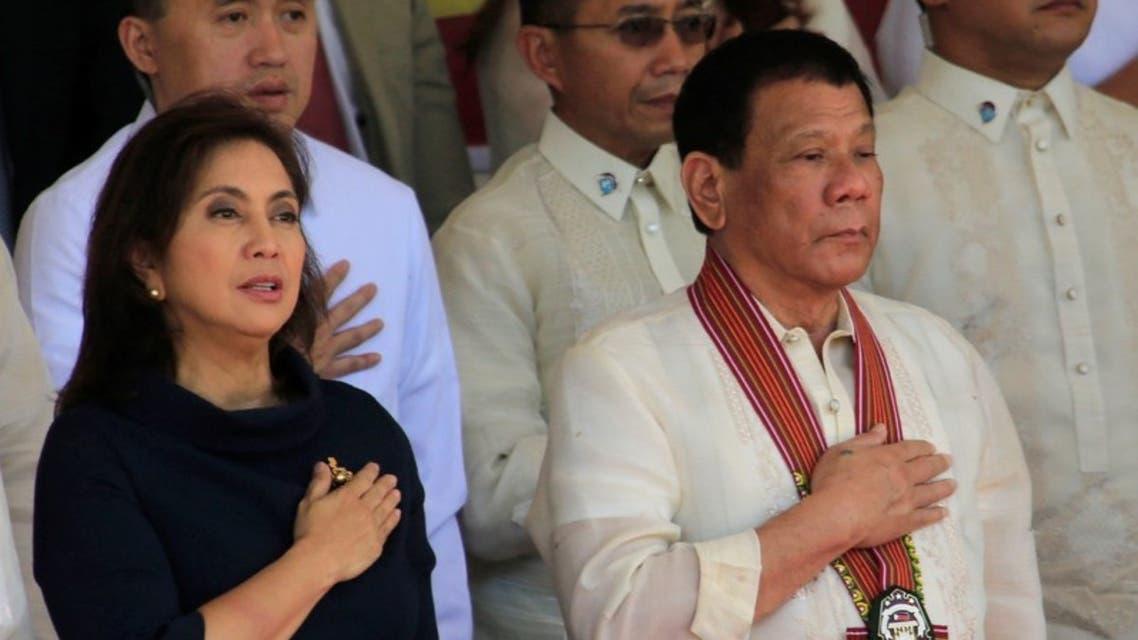 رئيس الفلبين ونائبته