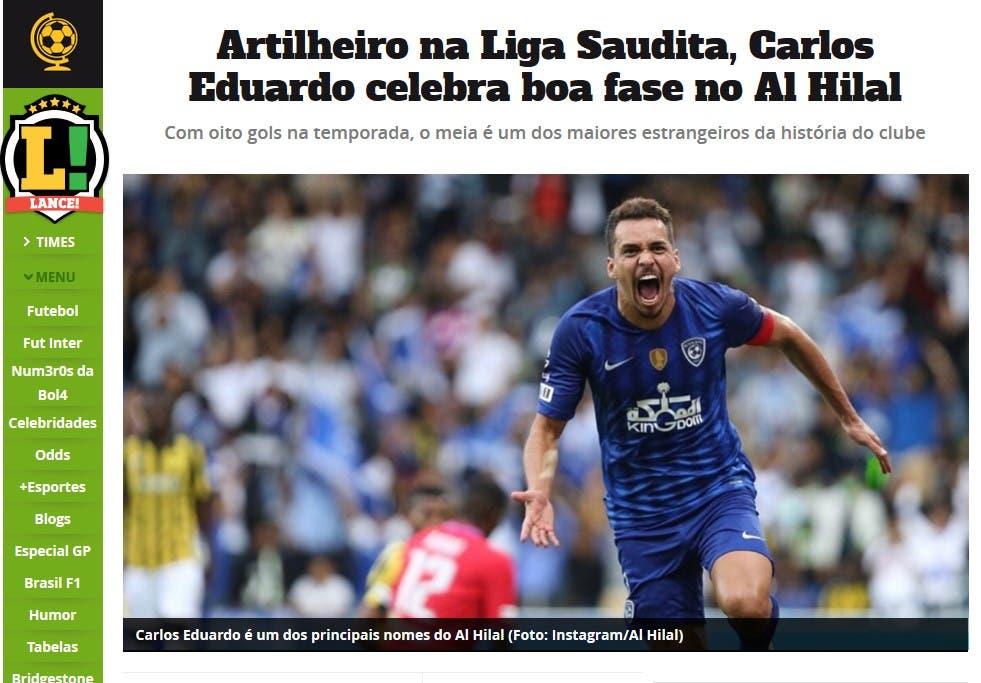تصريح إدواردو للصحيفة البرازيلية