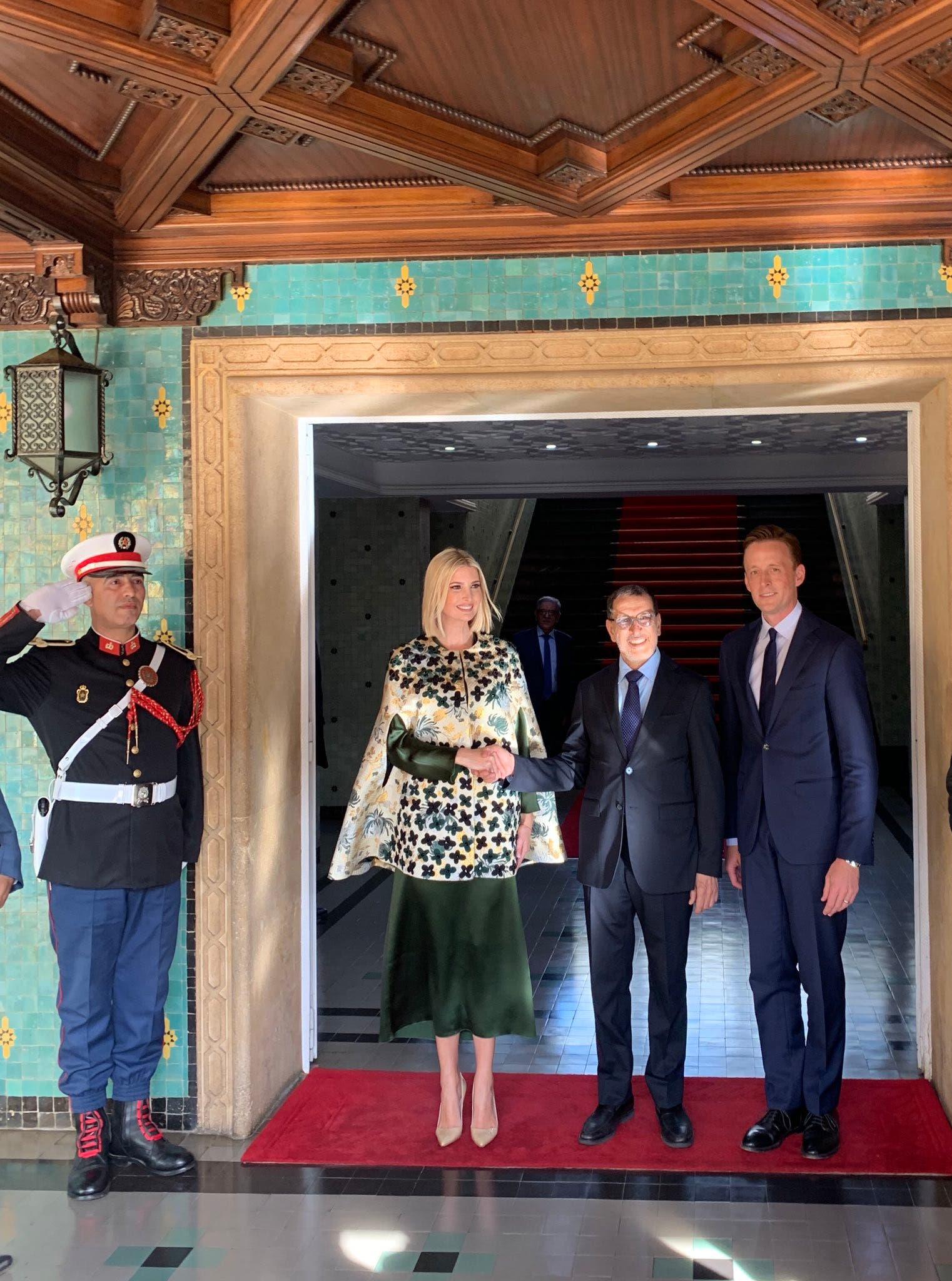 من زيارة ايفانكا ترمب للمغرب