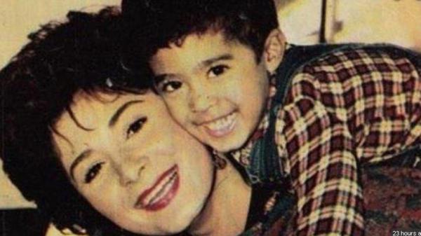 هكذا تحدثت الراحلة هالة فؤاد عن طفلها هيثم أحمد زكي
