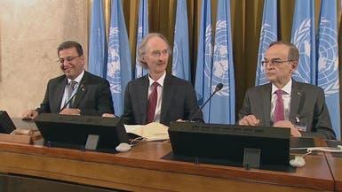 """المبعوث الأممي إلى سوريا: المباحثات حول الدستور السوري """"أفضل من المتوقع"""""""