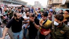بغداد میں تحریراسکوائر کے نزدیک فائرنگ سے مزید چھ مظاہرین ہلاک،80 زخمی