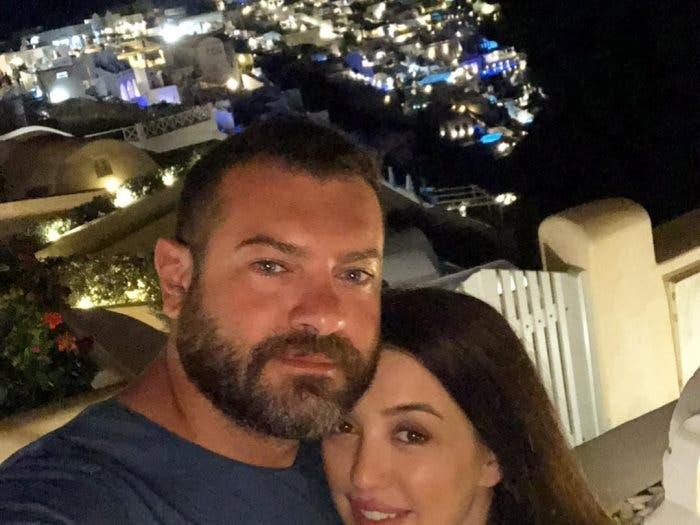 عمرو يوسف وزوجته الفنانة كندة علوش