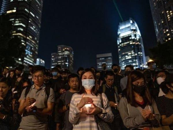 الآلاف يتجمعون لتأبين ضحايا احتجاجات هونغ كونغ