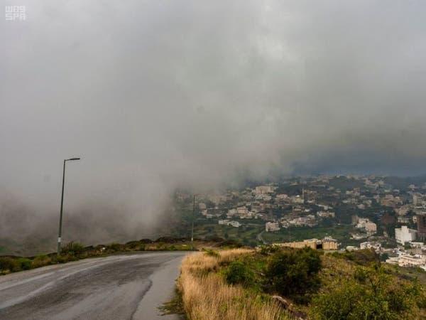 الأرصاد السعودية تحذر.. أمطار رعدية على 6 مناطق