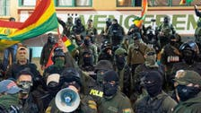Police in Bolivia join opposition as crisis mounts