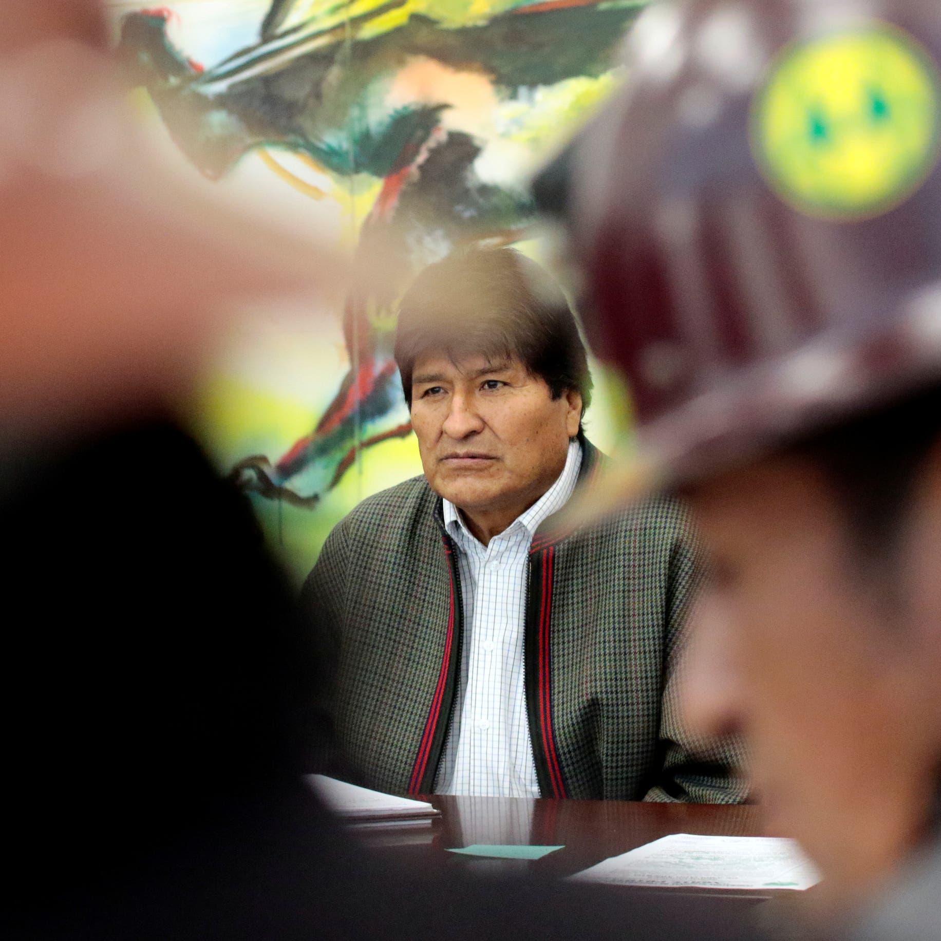 """بوليفيا.. موراليس يندد """"بانقلاب"""" الشرطة والمعارضة تطالبه بالاستقالة"""