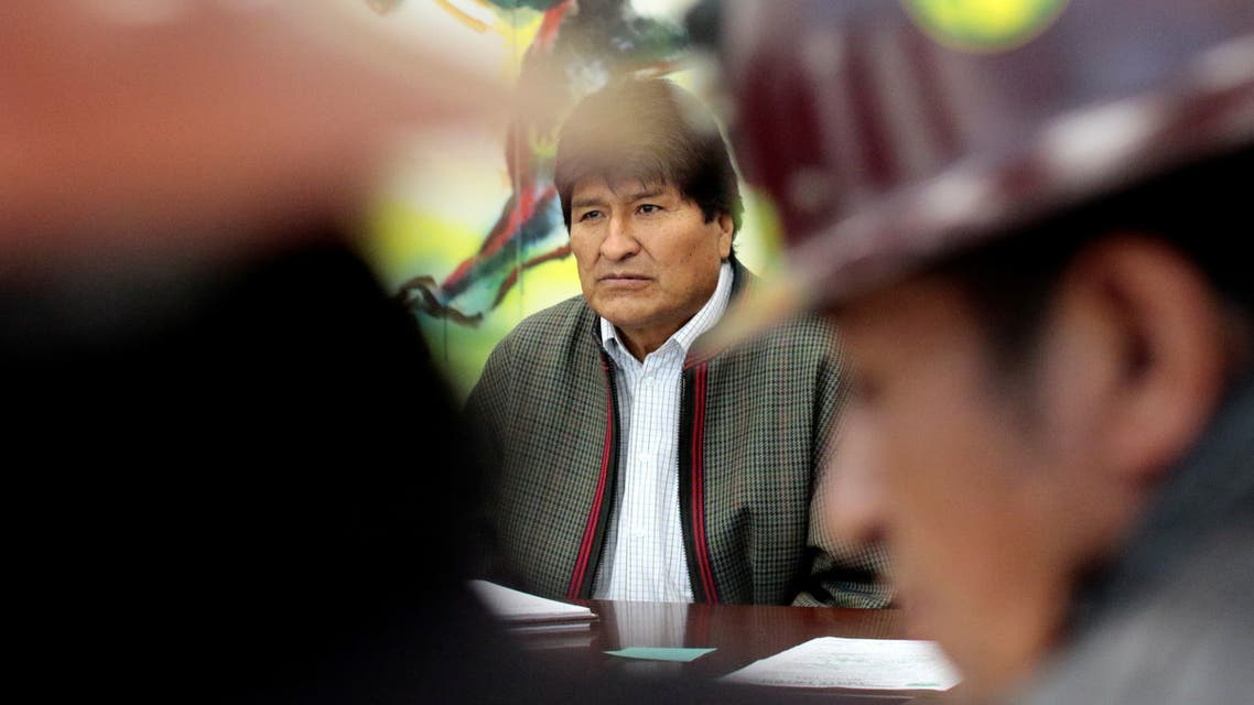الرئيس البوليفي إيفو موراليس - بوليفيا
