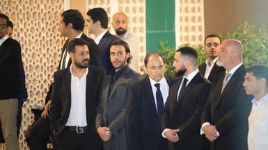 حضور كبير للفنانين في عزاء هيثم أحمد زكي