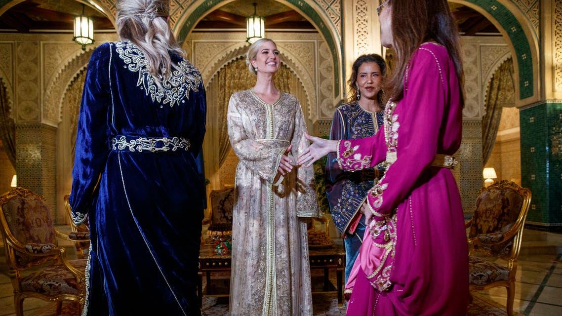 إطلالات إيفانكا ترمب في المغرب