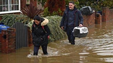 """الفيضانات """"تجتاح"""" الانتخابات المبكرة المخصصة لـ""""بريكست"""""""