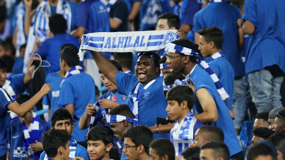 Asian Champions League Final - First Leg - Al Hilal v Urawa Reds - King Saud University Stadium, Riyadh, Saudi Arabia - November 9, 2019 General view of Al Hilal fans inside the stadium before the match REUTERS
