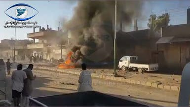 سوريا.. مقتل 8 وجرح 13 بانفجار سيارة مفخخة شمال الرقة
