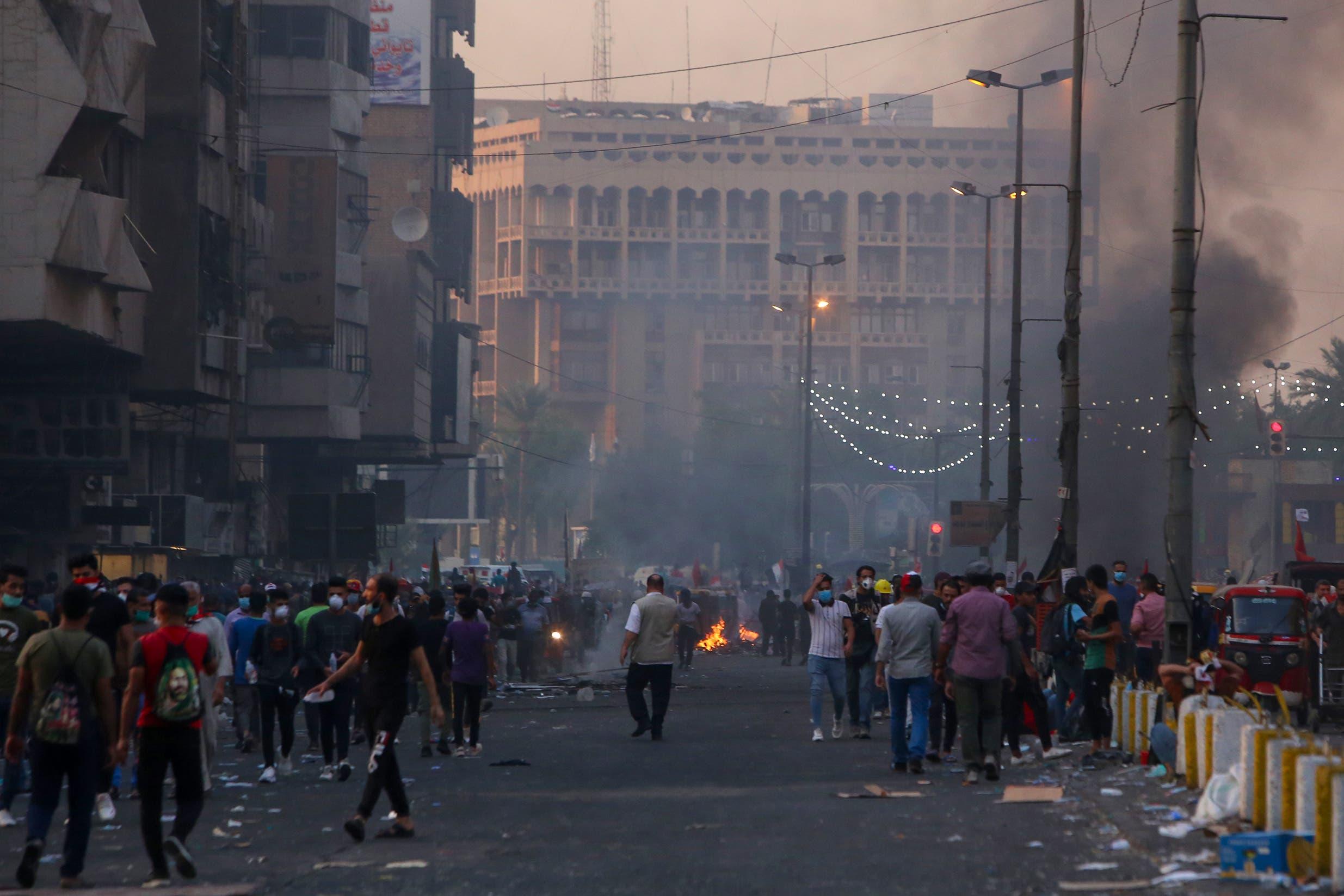من بغداد السبت