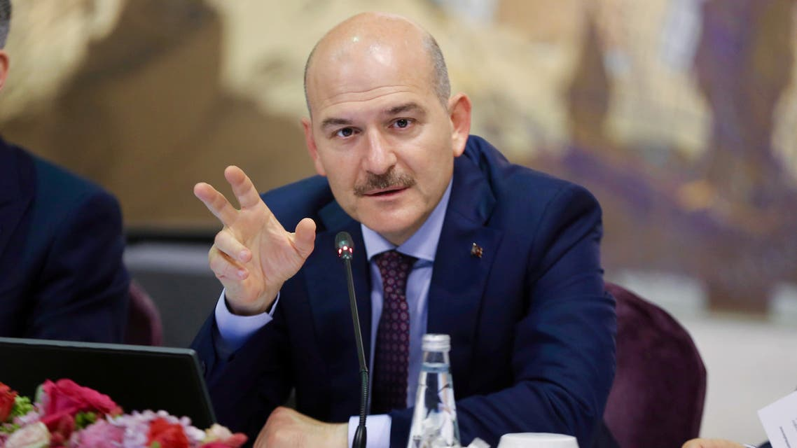 وزير الداخلية التركي سليمان صويلو في إسطنبول