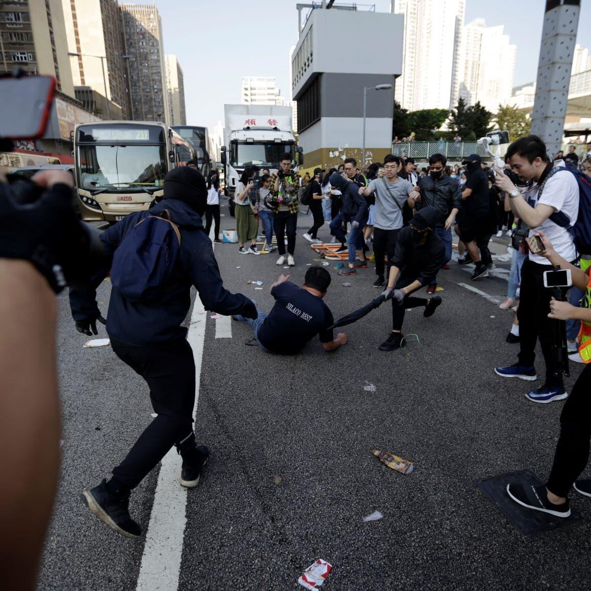 """مسؤول أميركي: ندين """"استخدام القوة غير المبرر"""" بهونغ كونغ"""