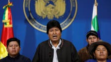 Bolivia's Anez says ex-president Morales could face arrest if he returns