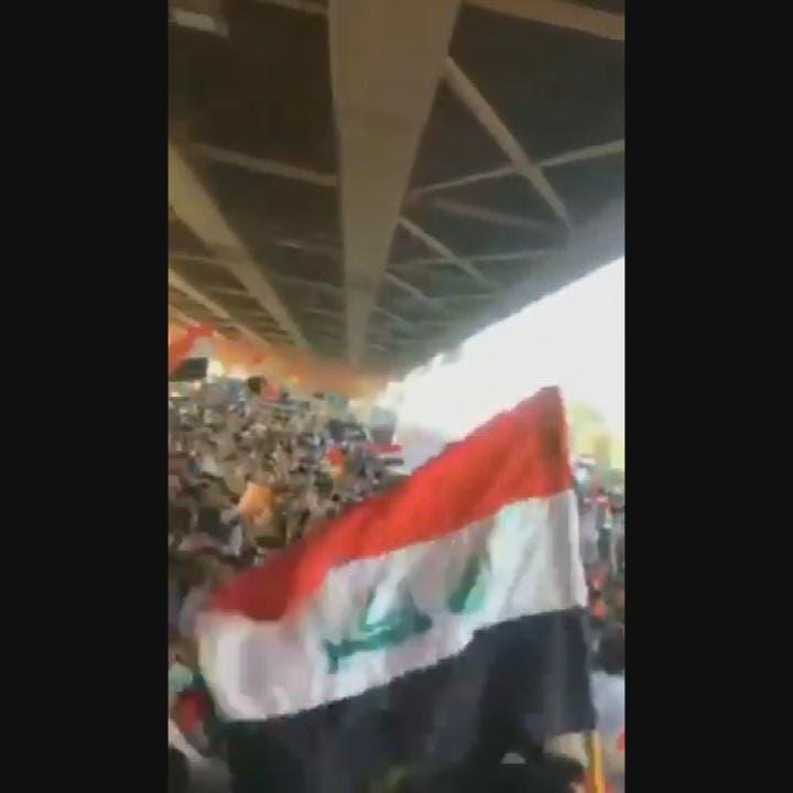 محتجون في بابل: يا قاسم يا سليماني هذا عراقي مو إيراني