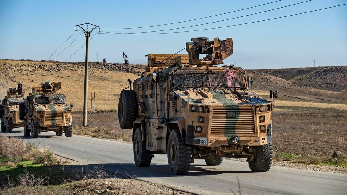 مركبات عسكرية تركية شمال سوريا