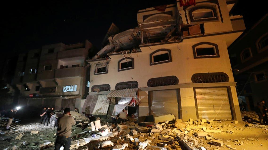 من هجوم غزة بهاء أبو العطا