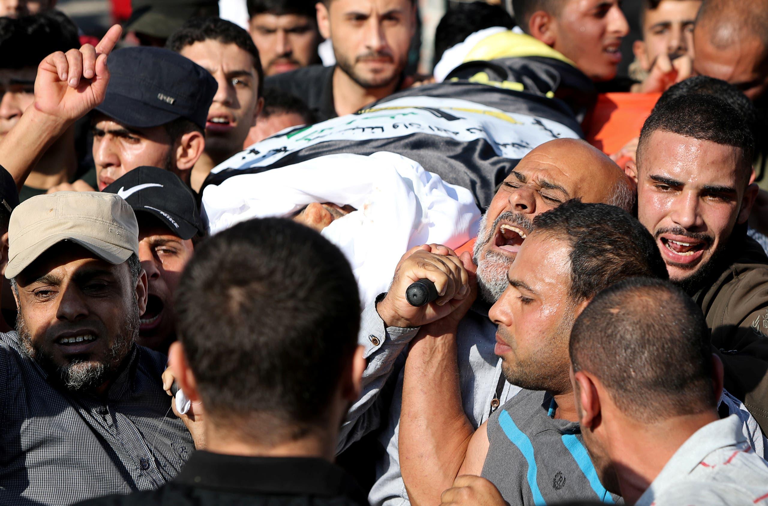 من غزة