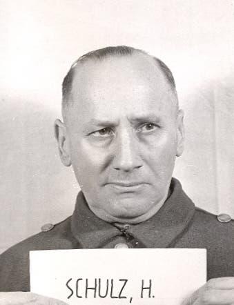 صورة لهنريش شولز أحد المتهمين بقتل أرزبيرغر