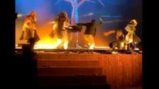 ریاض: اسٹیج فن کاروں پر چاقو سے حملہ کرنے والا پولیس کی حراست میں