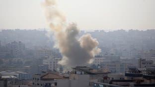 إسرائيل تقصف مواقع لحماس في غزة
