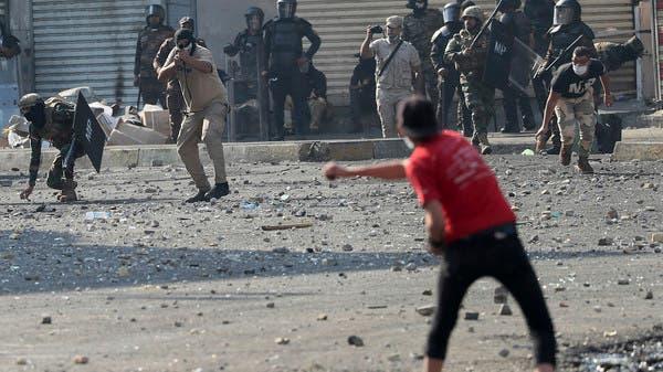 العراق.. متظاهرون يحاصرون منازل مسؤولي قضاء الغراف