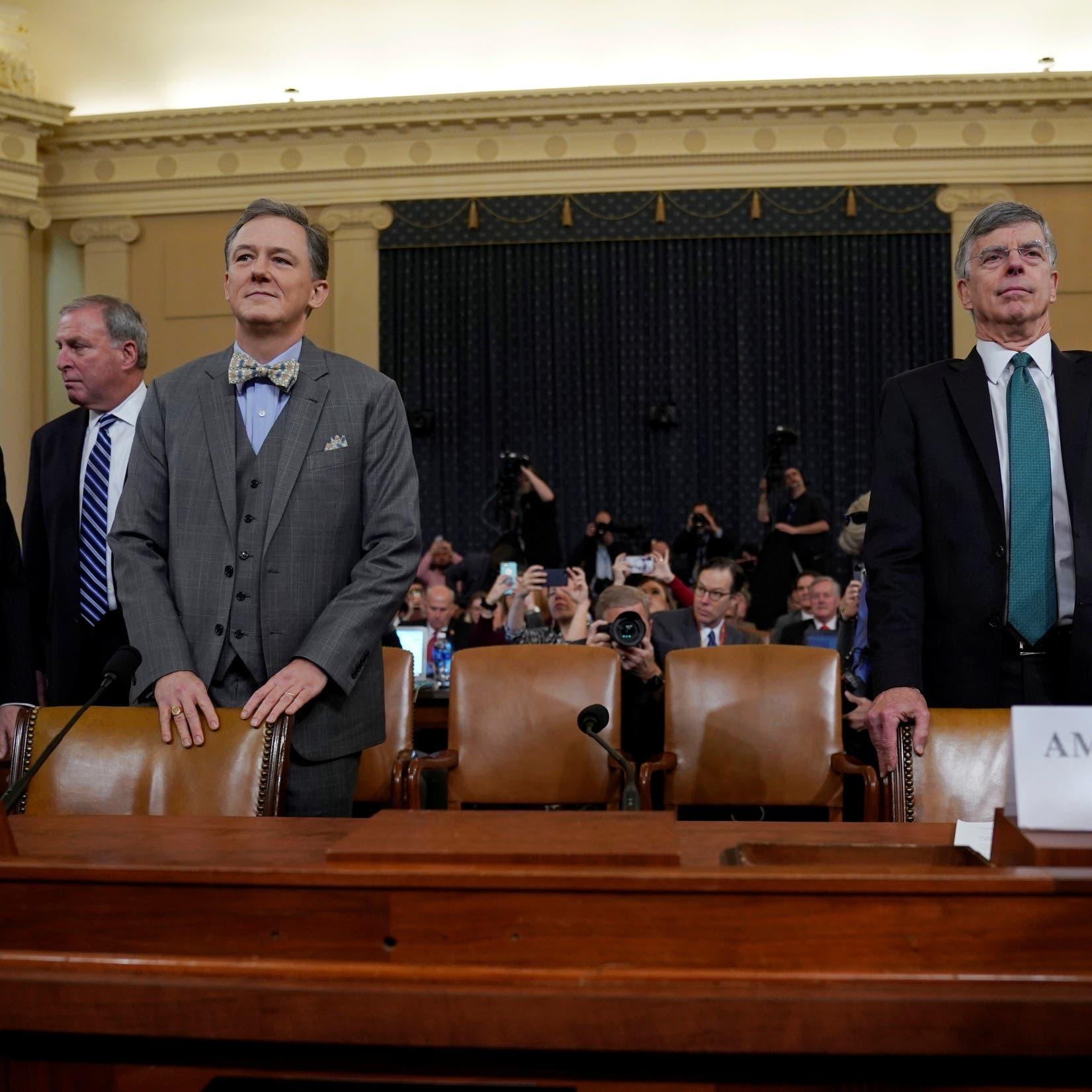 بدء أولى جلسات الاستماع العلنية في قضية مساءلة ترمب