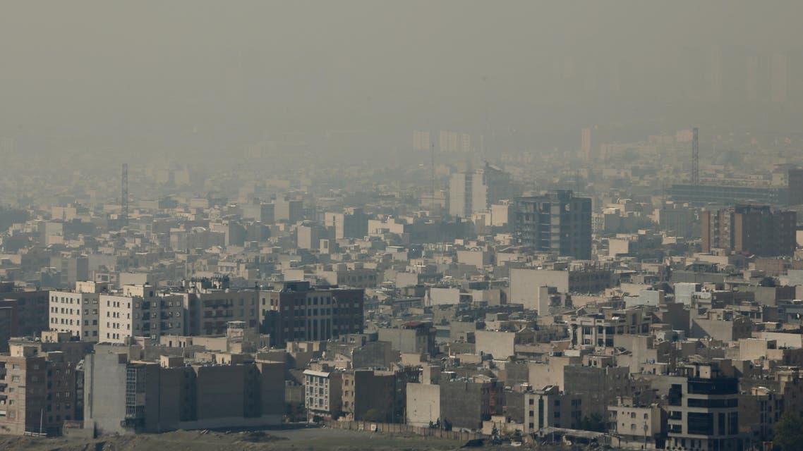 West Tehran November 13 air pollution - AFP