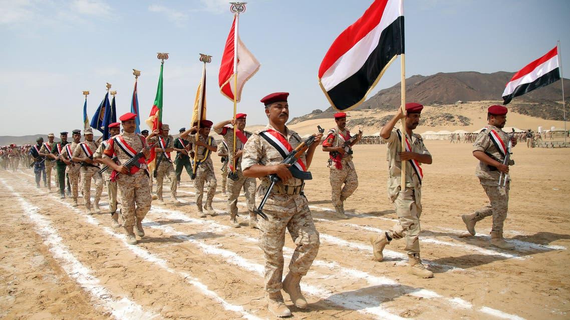government soldiers yemen Marib September 2016 AFP