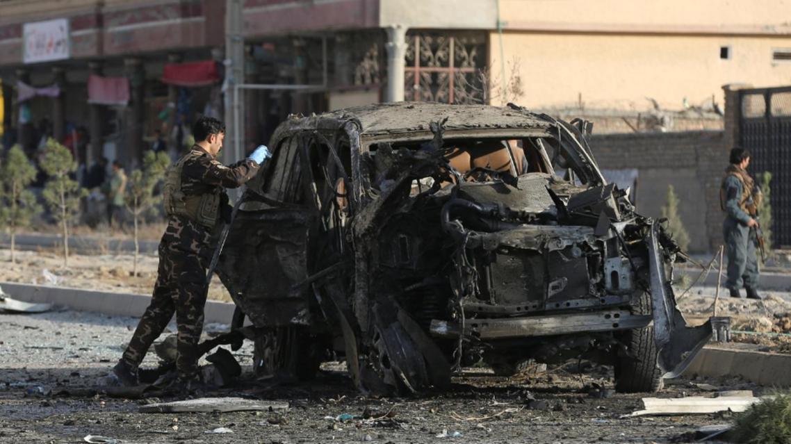 حمله موتر بمب در نزدیکی وزارت داخله افغانستان 7 کشته و 7 زخمی برجای گذاشت