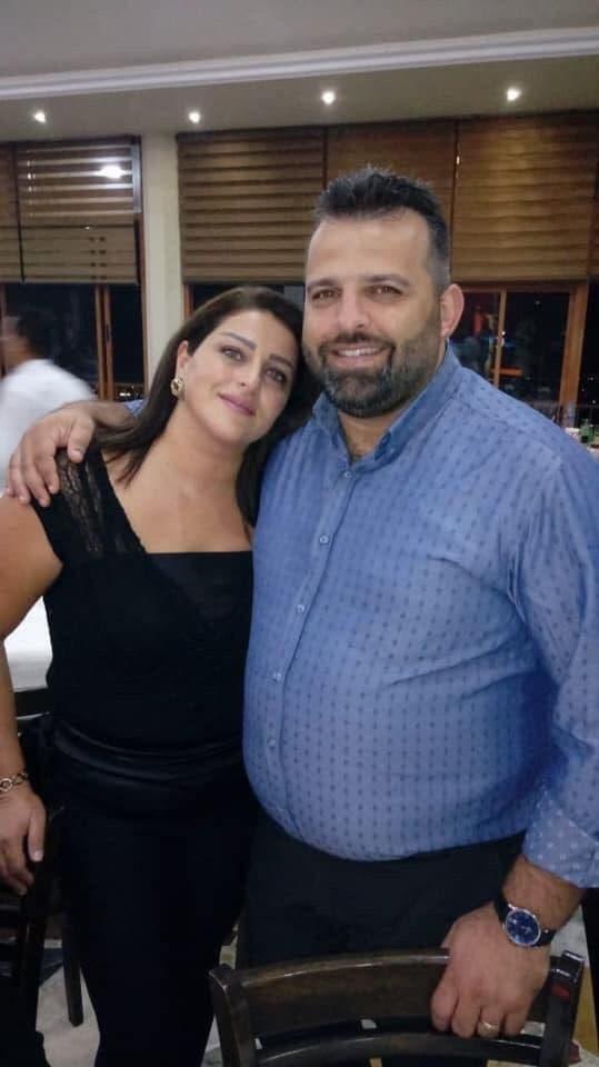 القتيل مع زوجته