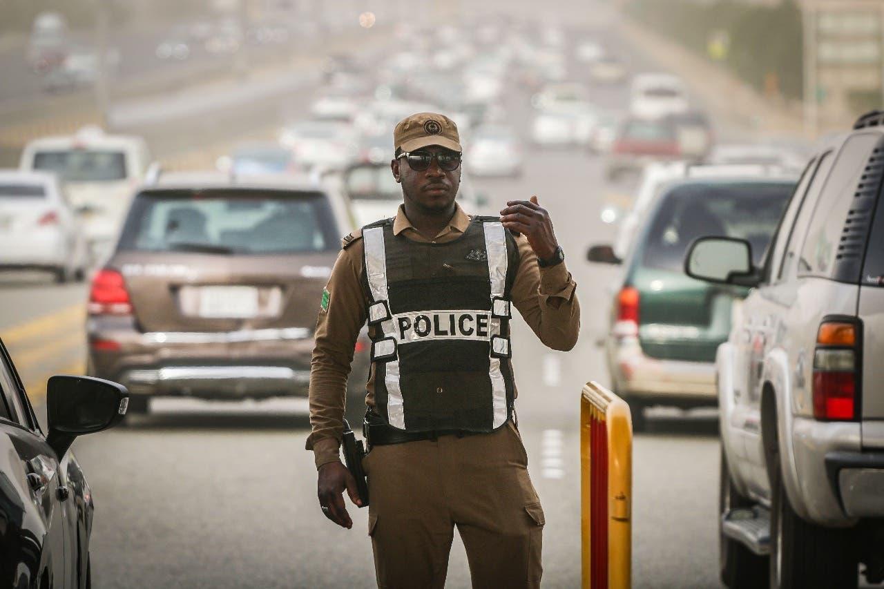 قوات من الأمن السعودي -  الشرطة السعودية