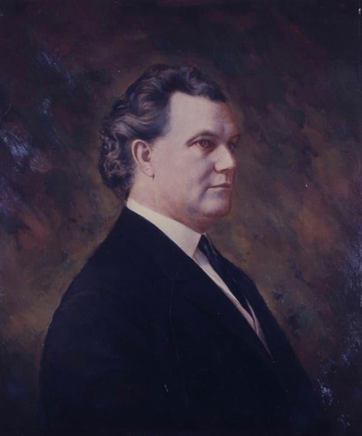 رسم تخيلي لحاكم ميسيسيبي إيرل بريور