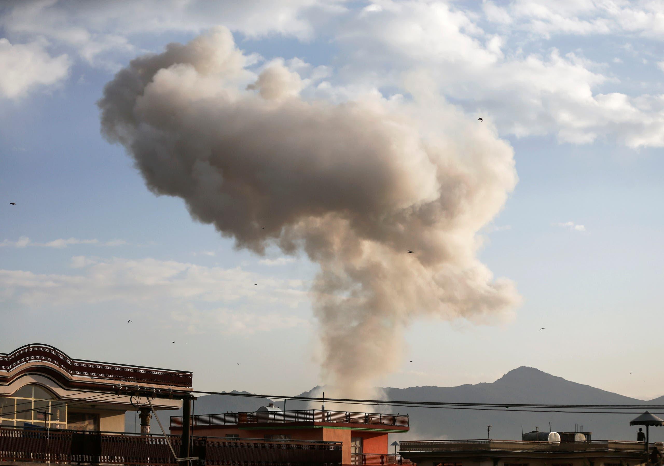 من انفجار كابول