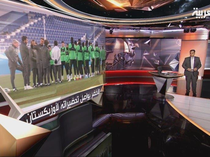 في المرمى | المنتخب السعودي يستعد لمواجهة أوزباكستان