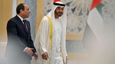 تأكيد مصري إماراتي على توحيد الصف العربي والتصدي للتدخلات