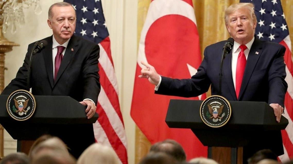 ترمب وأردوغان في المؤتمر الصحافي الأربعاء