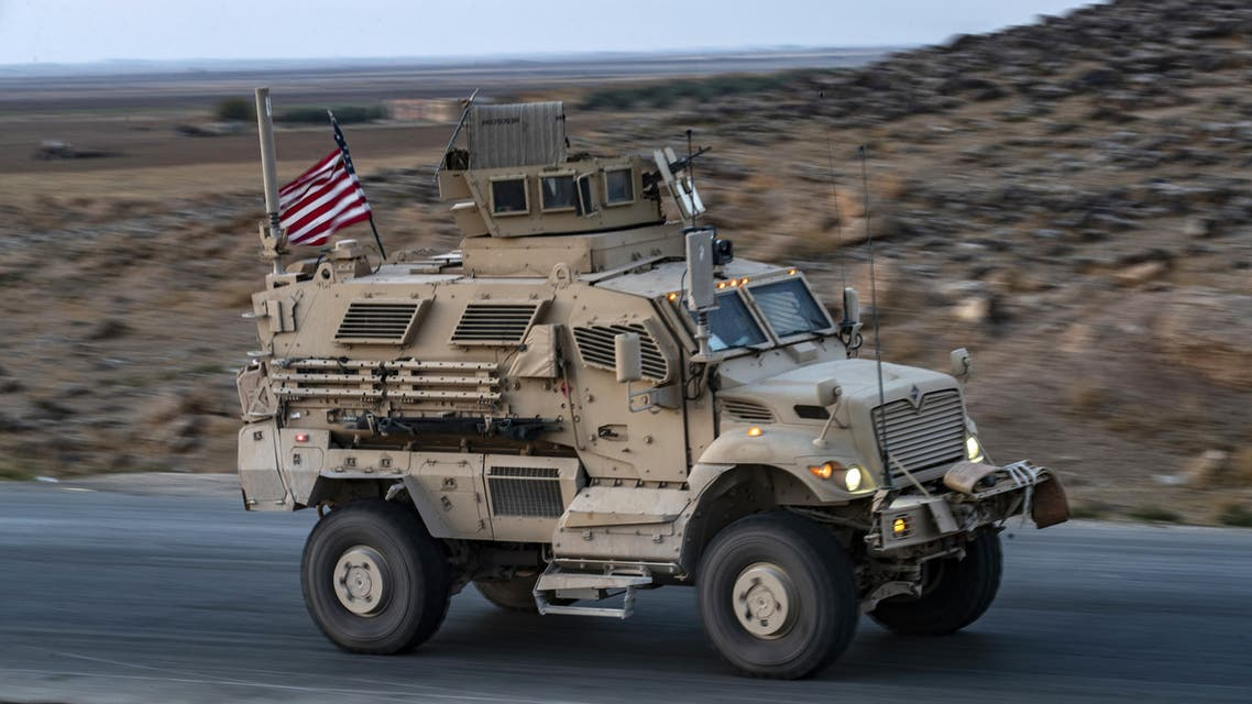 AFP  a convoy of US military vehicles drives near the town of Tal Tamr in the northeastern Syrian Hasakeh province on the border with Turkey, on November 10 2019