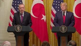 ترامپ در دیدار با اردوغان: آتشبس سوریه پایدار است